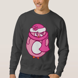 Pink Penguin Sweatshirt
