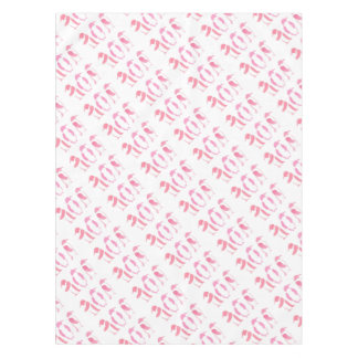 Pink Penguin Trio Tablecloth
