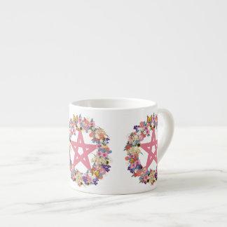 Pink Pentacle Espresso Mug