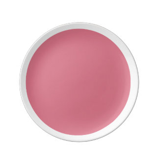Pink Pentacle Pink n' White Accent Plate