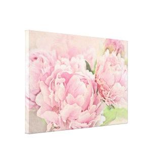 Pink Peonies Canvas Print