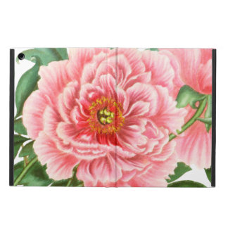 Pink Peonies Case For iPad Air