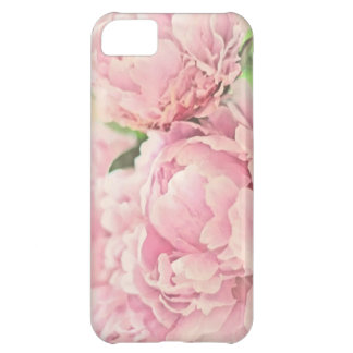 Pink Peonies Cover For iPhone 5C