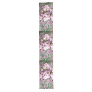 Pink Peonies In Peony Vase 3 Art Table Runner
