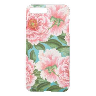 Pink Peonies On Teal iPhone 8 Plus/7 Plus Case