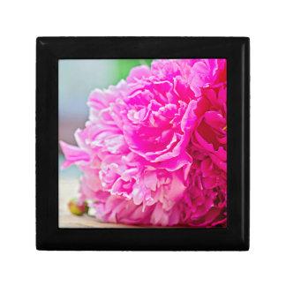 Pink peony beauty gift box