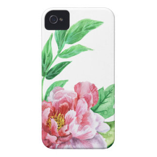 Pink Peony Case-Mate iPhone 4 Cases