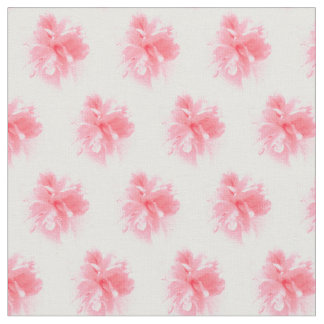 Pink Peony Floral Fabric