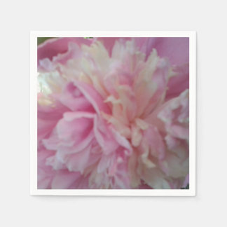 Pink Peony Luncheon Napkin Paper Napkins
