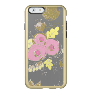 Pink Peony Sketched Art Case - Iphone 6s case Incipio Feather® Shine iPhone 6 Case