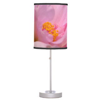 Pink Peony Table Lamp
