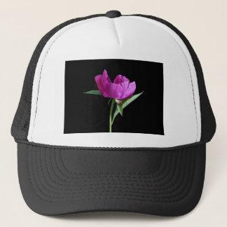 pink-peony trucker hat