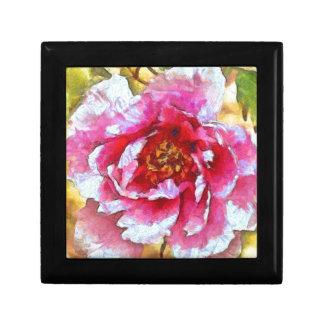 Pink Peony Van Gogh Style Gift Box
