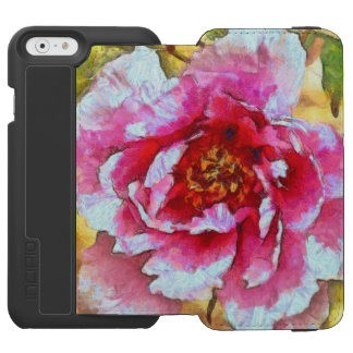 Pink Peony Van Gogh Style Incipio Watson™ iPhone 6 Wallet Case