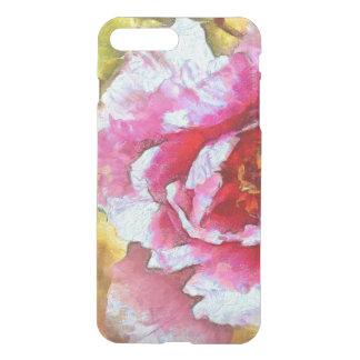 Pink Peony Van Gogh Style iPhone 8 Plus/7 Plus Case