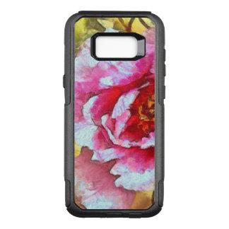 Pink Peony Van Gogh Style OtterBox Commuter Samsung Galaxy S8+ Case