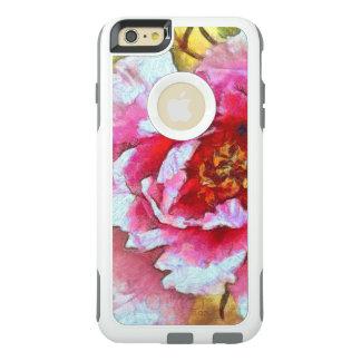 Pink Peony Van Gogh Style OtterBox iPhone 6/6s Plus Case