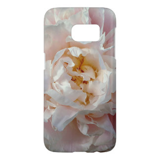 Pink Peony Watercolor Flower Design Samsung Galaxy S7 Case