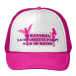 Pink personalized bachelorette party