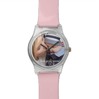 Pink Personalized Watches - Unique Gifts For Mom