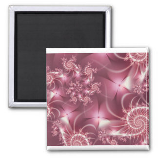 Pink Petticoats Square Magnet