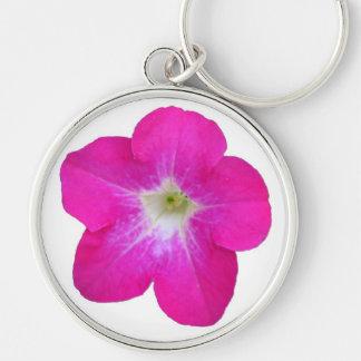 Pink Petunia Keychain