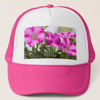 Pink Petunia Passion Trucker Hat