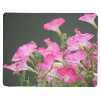 Pink petunias journal