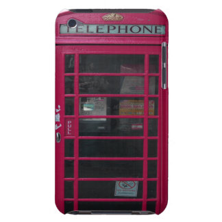 pink phone booth iPod touch covers