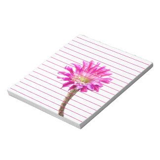 Pink Piazza in bloom Notepad