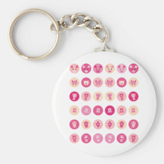 Pink Pig All Keychains