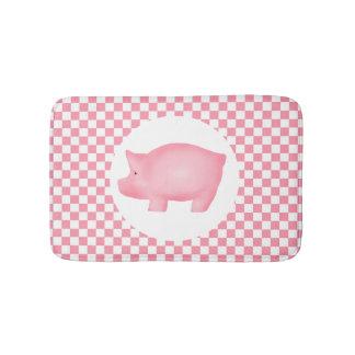 Pink Pig Bath Mat
