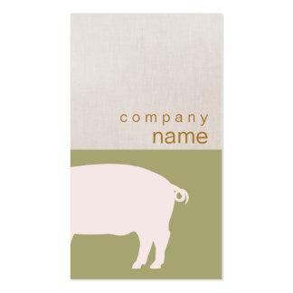 Pink Pig Business Card