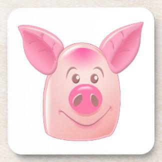 Pink Pig Coasters