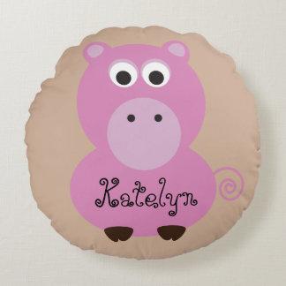 Pink Pig Pillow