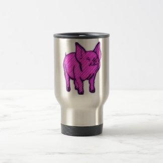 Pink Pig Travel Mug