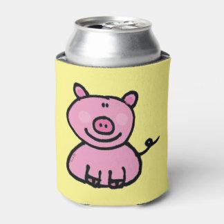 pink piggy can cooler