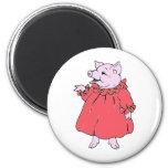 Pink Piggy in Pretty Dress