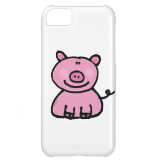 pink piggy iPhone 5C case