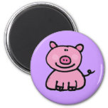 Pink piggy magnets