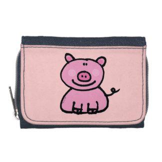pink piggy wallet