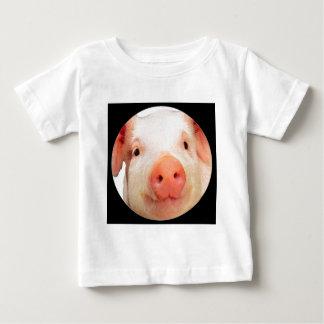 """Pink Piglet"" Baby T-Shirt"