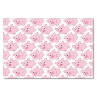 Pink Pigs Tissue Paper
