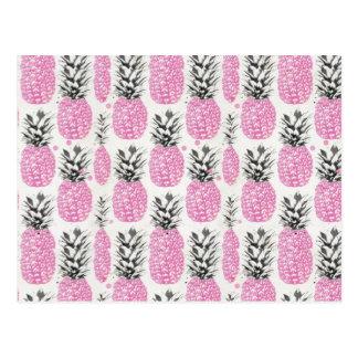 Pink Pineapple Postcard