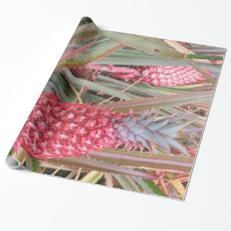 Pink Pineapple Wrapping Paper