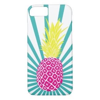Pink Pineapples iPhone Case