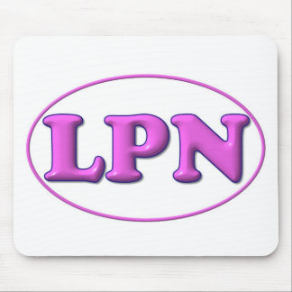 Pink Pink LPN Mouse Pad