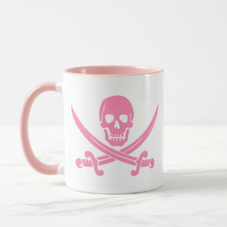 Pink Pirate Coffee Mug