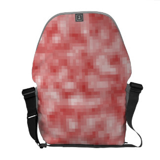 Pink Pixel Camo Courier Bag