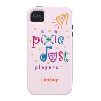 Pink Pixie Dust Players iPhone 4 Case